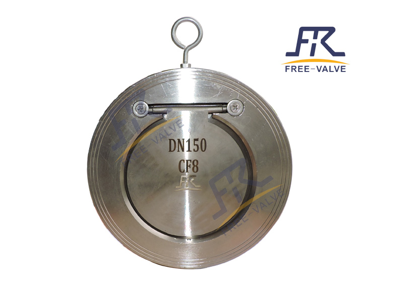 Wafer Single Plate Thin Type Check Valve_3