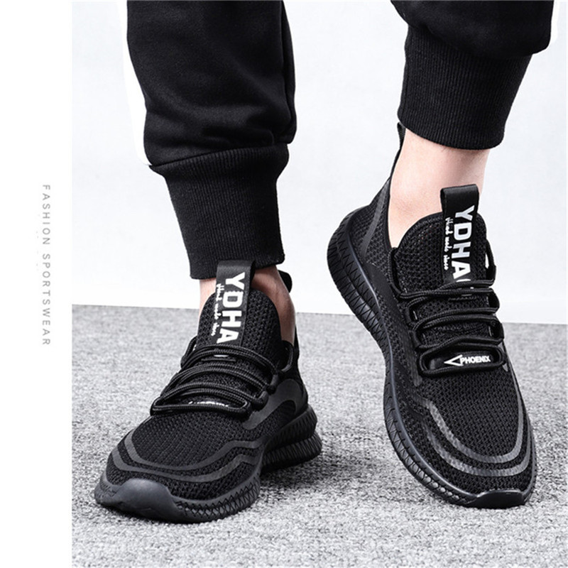 Fashion Flyknit Mesh Hollow Breathable Soft Men's Height Increasing Elevator Sport Shoes Sneaker Get Taller 2.16 inches_3