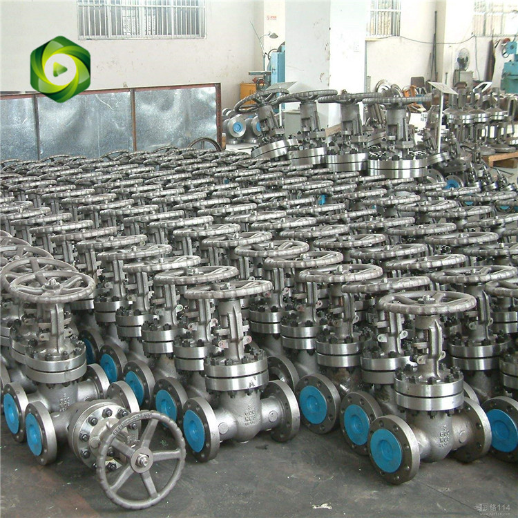 Cast steel & Stainless steel  gate valve_3