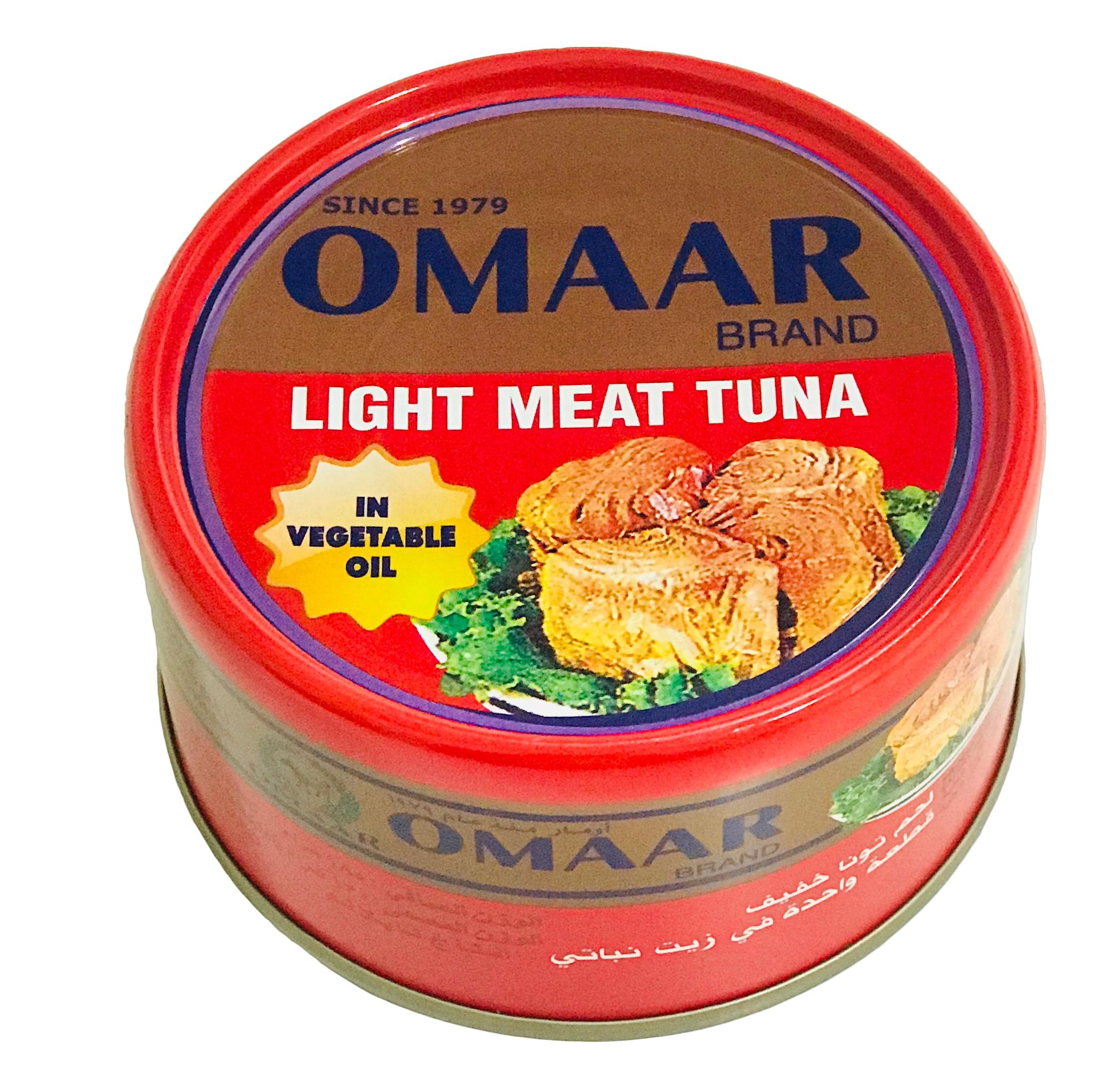 Solid tuna omaar 95 gm in veg. oil