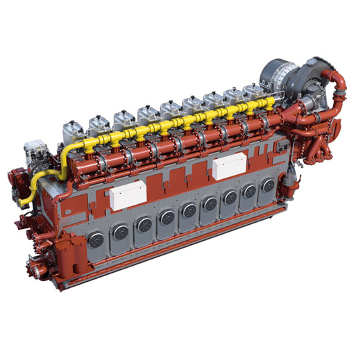 M-34-df mak dual fuel engine power system