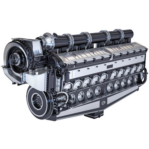 Emd 20-710 diesel engine power system