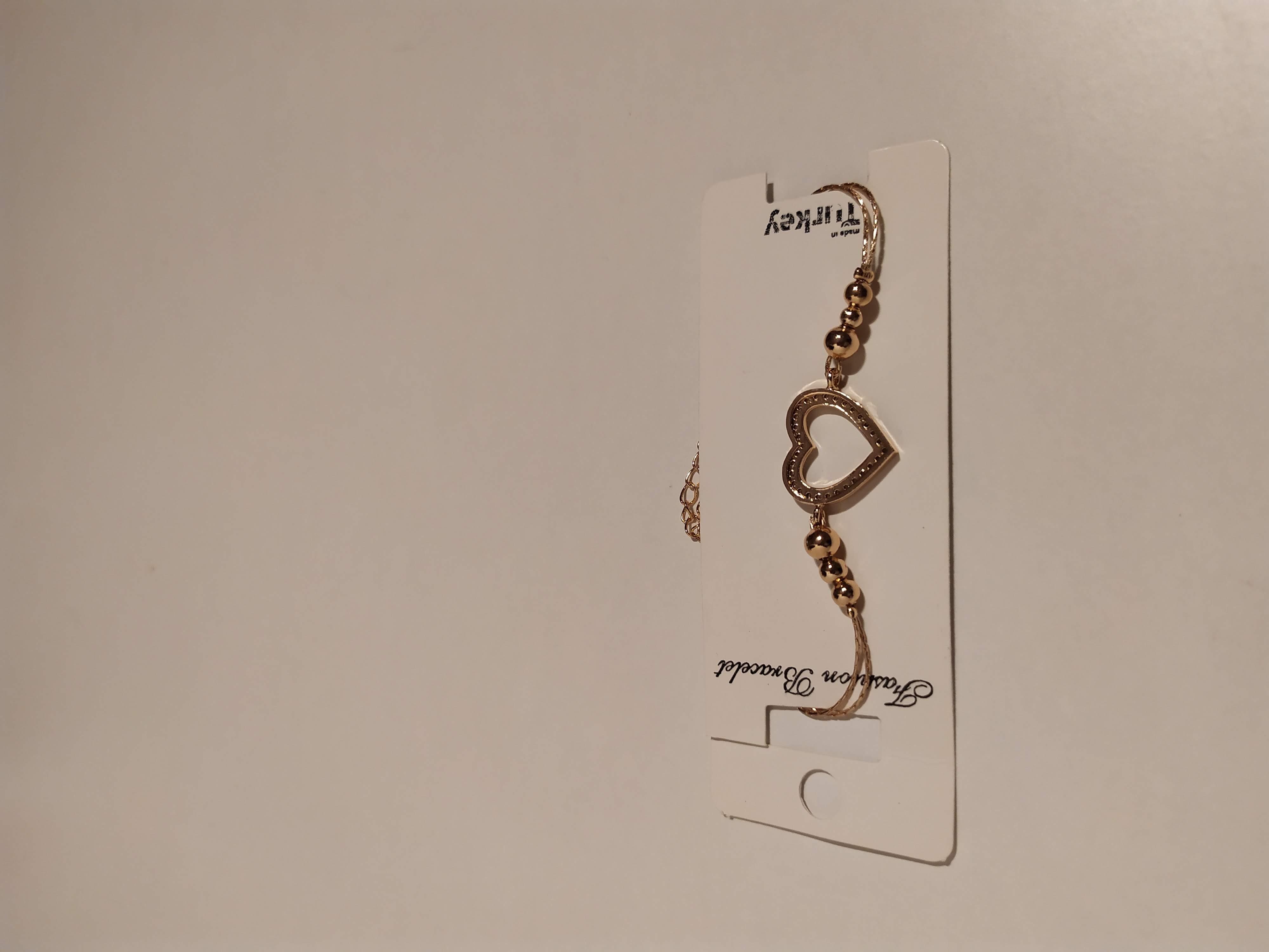 حجر الزيركون ، مطلي بالذهب ، غير مسبوق ، سوار أسود / Zircon Stone, Gold Plated, Non Allergic, Bracelet_10