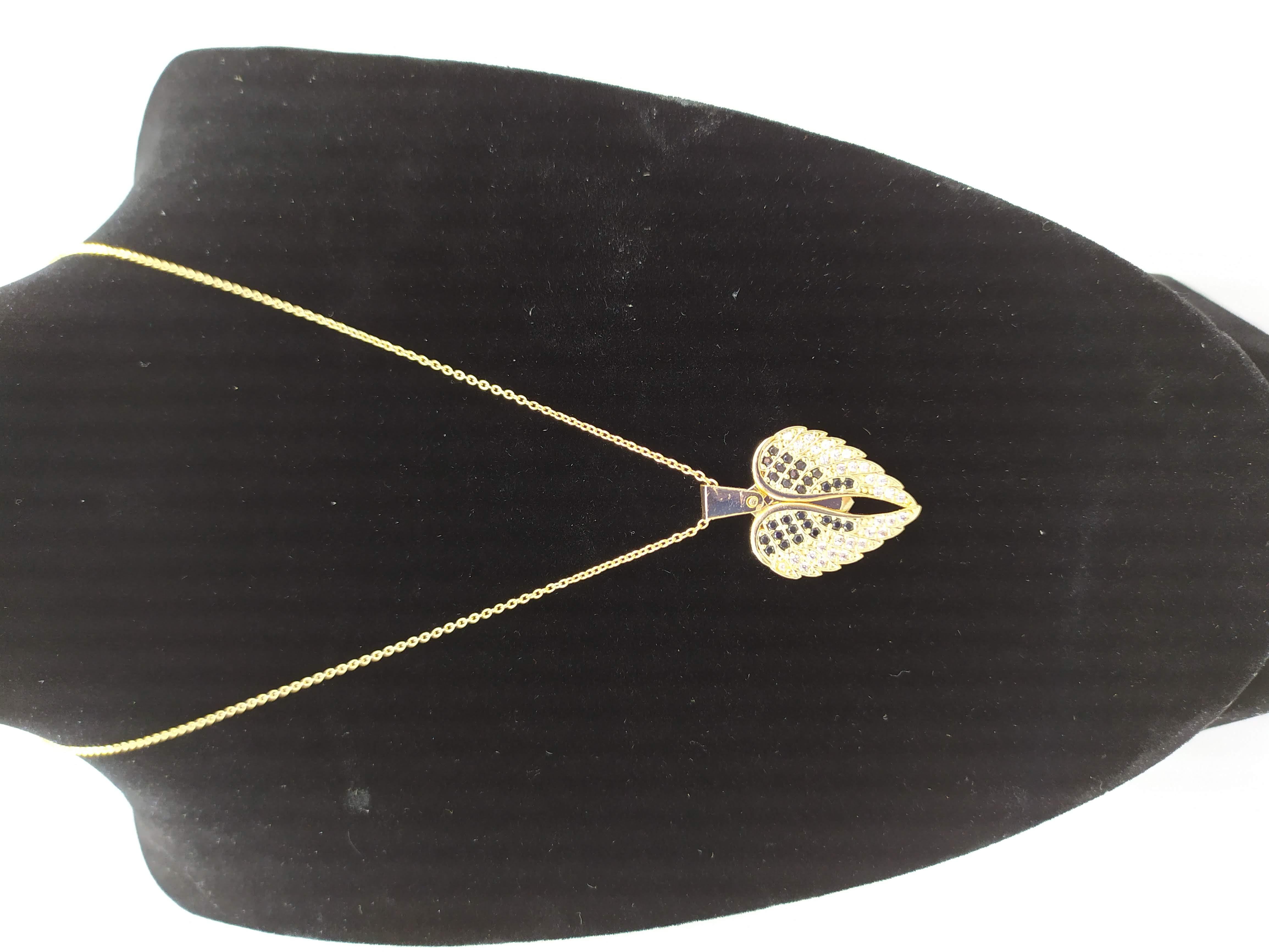 قلادة مطلية بالذهب مع الزركون الممتاز. لا يسبب الحساسية ، لا تغميق / Gold plated necklace with premium zircon. does not cause allergies, does not darken_29