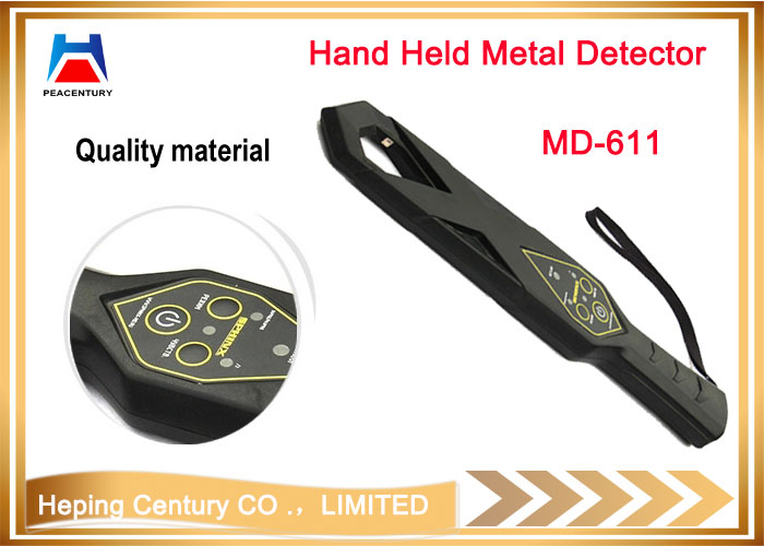 Full body security equipment hand held gold metal detector MD300_4