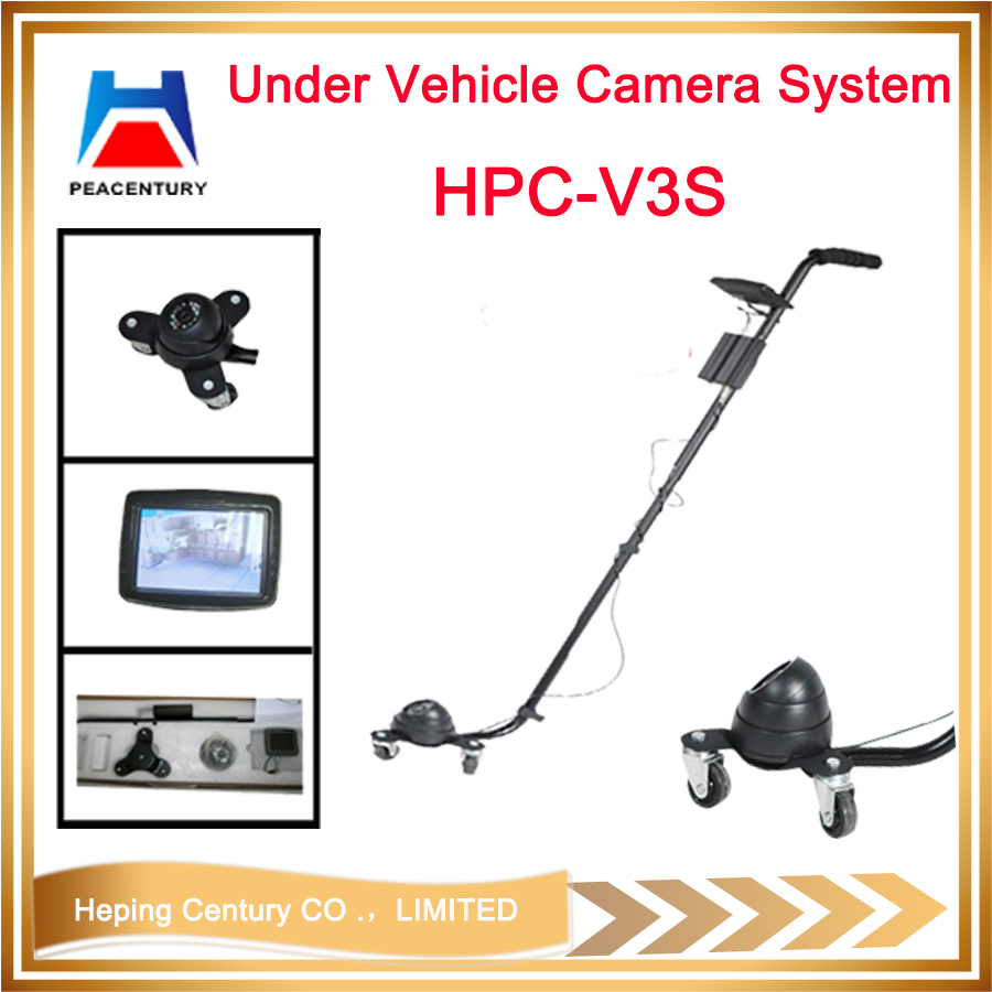 Portable Digital Visual Under Vehicle checking camera UVSS with DVR    HPC-V3D_9