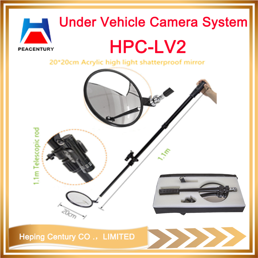 Portable Digital Visual Under Vehicle checking camera UVSS with DVR    HPC-V3D_8