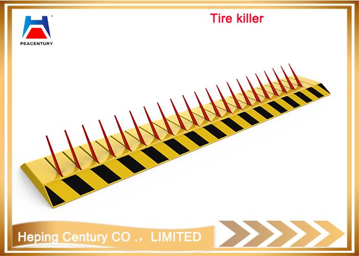 Hot sale Removable traffic manual type bollrad reflective flexible rising bollard Hydraulic Rising Bollard_7