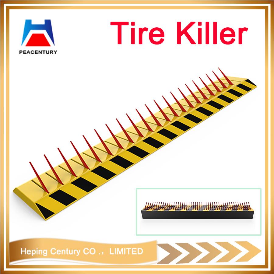 Hot sale Removable traffic manual type bollrad reflective flexible rising bollard Hydraulic Rising Bollard_6