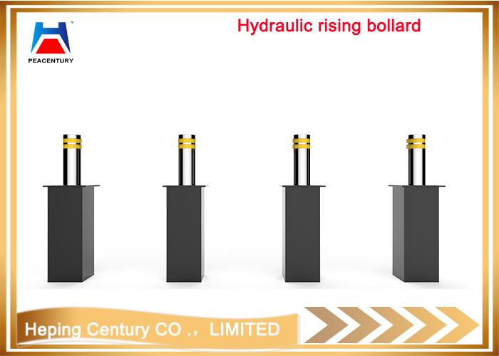 Hot sale Removable traffic manual type bollrad reflective flexible rising bollard Hydraulic Rising Bollard_9