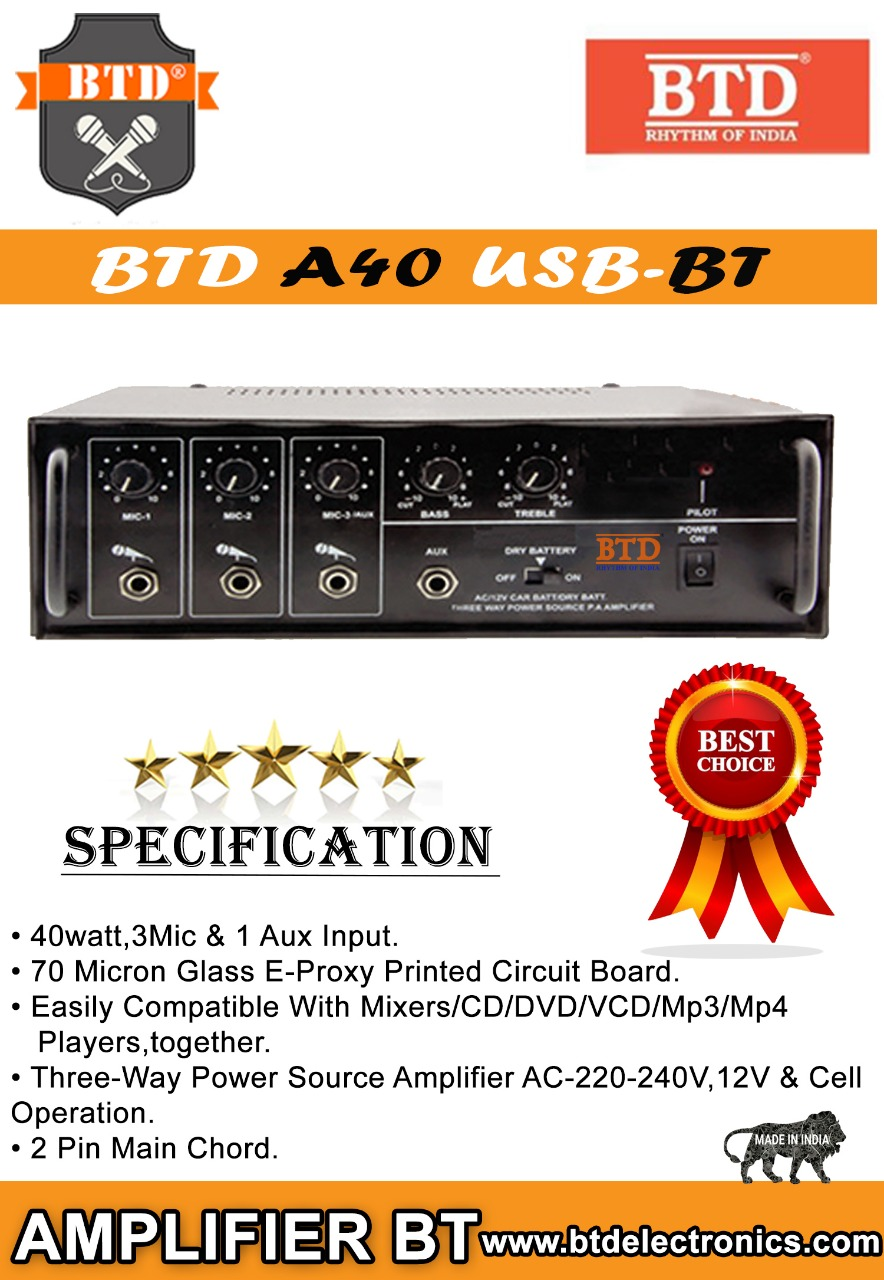 Professional Amplifier_4