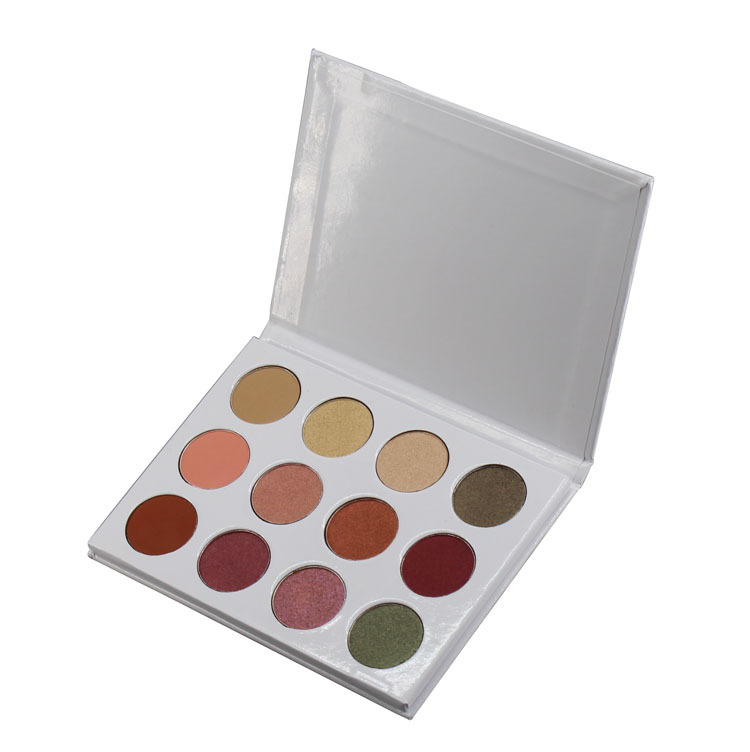 Ms-ep-12 3 matte colors and 8 shimmer colors eyeshadow palette
