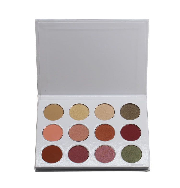 MS-EP-12 3 matte colors and 8 shimmer colors eyeshadow palette_5