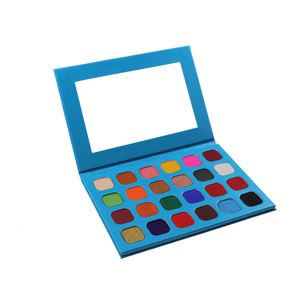 Ms-ep-24 13 matter color and 11 shimmer color eyeshadow palette