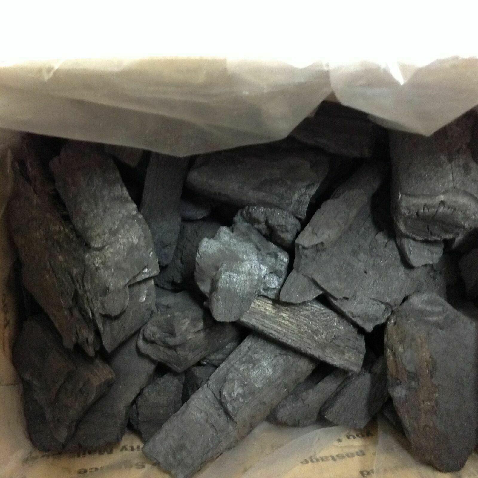 Hard wood charcoal