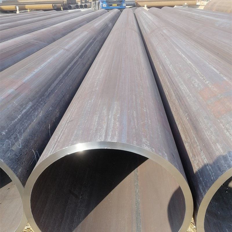 ASTM  A252   LSAW  carbon  Steel tube  for  Piling Pipe_6