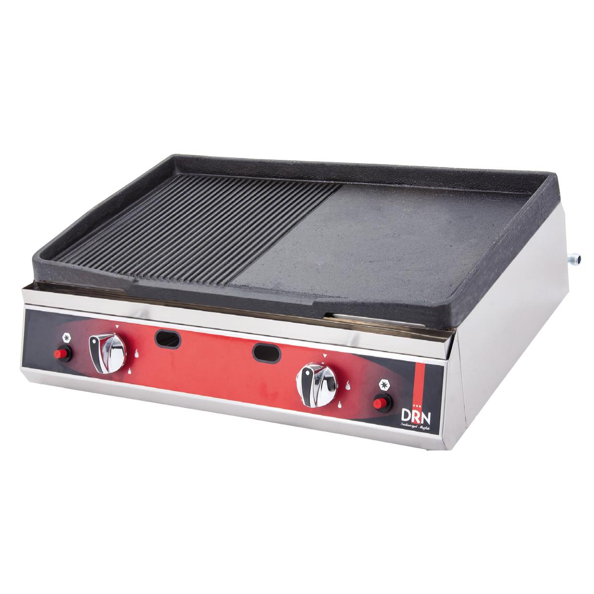 Cast iron grill - 70cm - lpg  drndizg-70-lpg