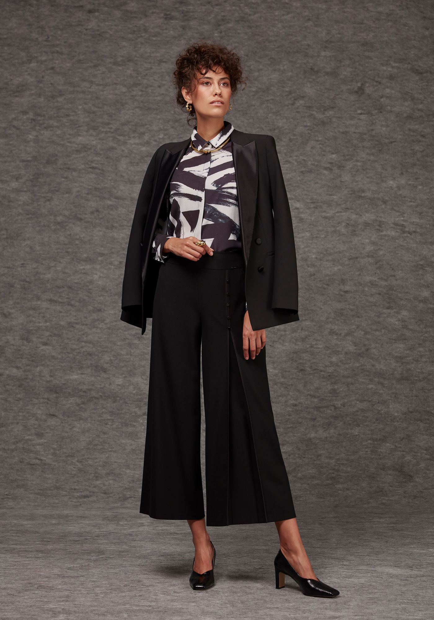 Guzella trendy culottes