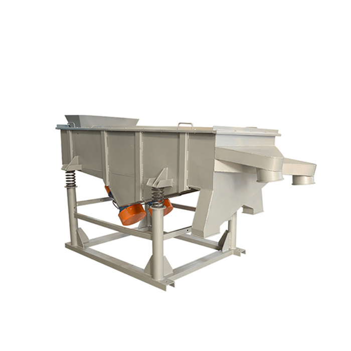 Sand screening linear vibrating sieve machine
