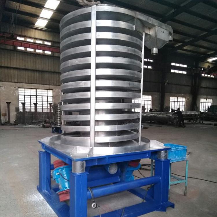 Vibrating vertical spiral conveyor_3