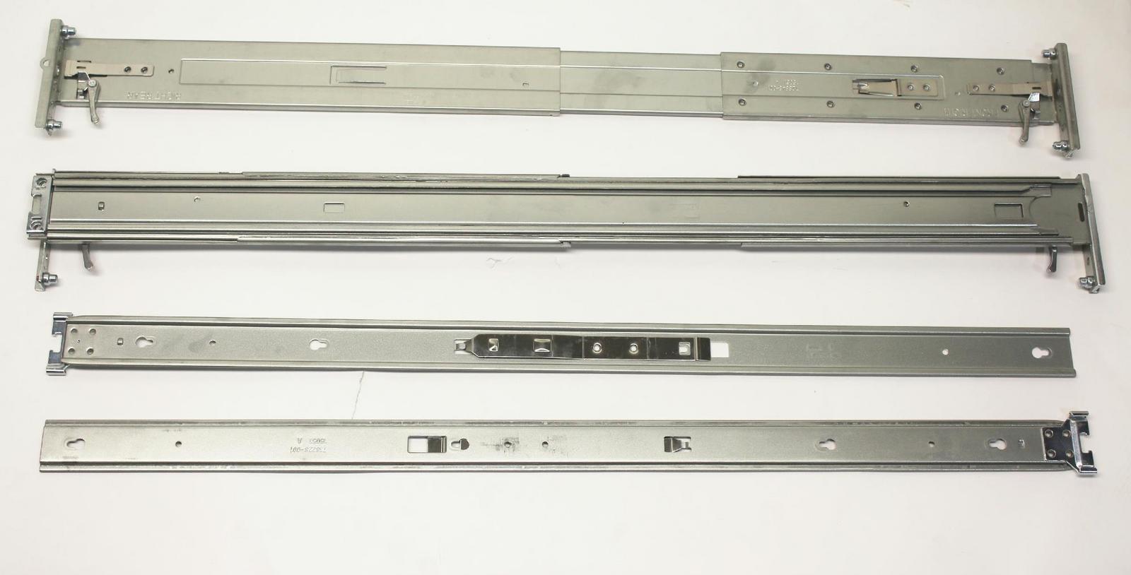 2u small form factor easy install rail kit (733660-b21)