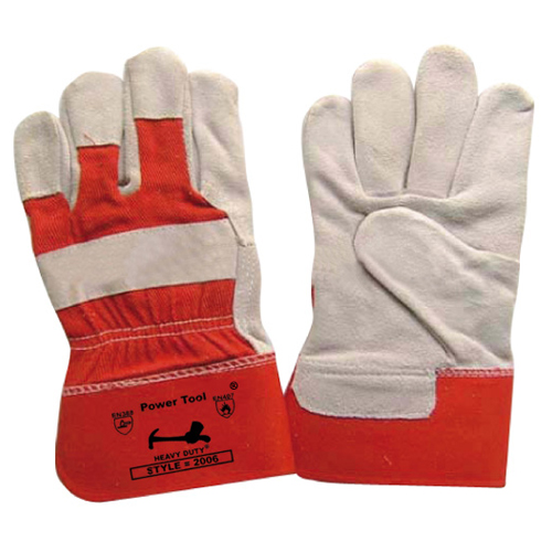 Single Palm Leather Gloves_2