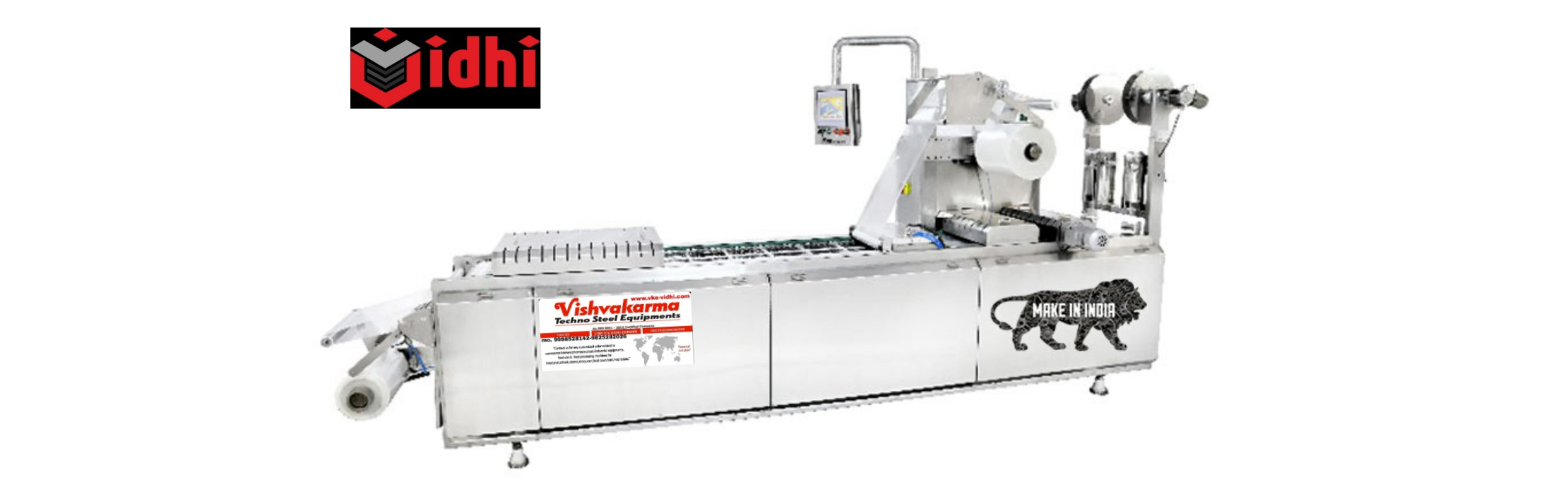 Map - thermo forming vacuum packing machine