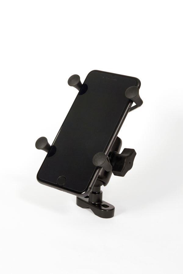 Motorcycle Mount with Universal X-Grip SmartPhone Cradle_7