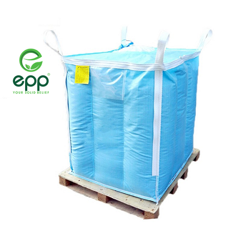 Vietnam supplier tubular big bag Q bags circular PP woven packaging bags for Powder and sand canvas tote 1m3 baffle Q jumbo bag_4