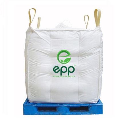 Vietnam supplier tubular big bag Q bags circular PP woven packaging bags for Powder and sand canvas tote 1m3 baffle Q jumbo bag_3