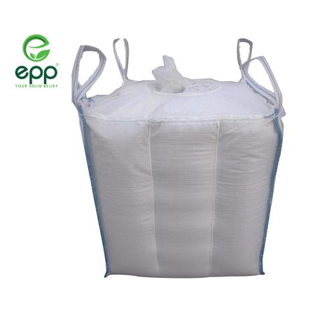 Vietnam supplier tubular big bag Q bags circular PP woven packaging bags for Powder and sand canvas tote 1m3 baffle Q jumbo bag_5