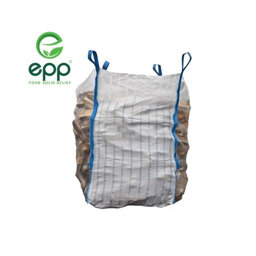 Fibc vietnam حاويات السائبة التهوية log sacks شعار مخصص whosale 1/2 tonne و 1 tonne bulk جامبو شبكة أكياس السوبر