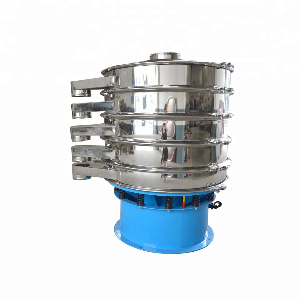 Vibrating screen sieve sifter for powder particle_2