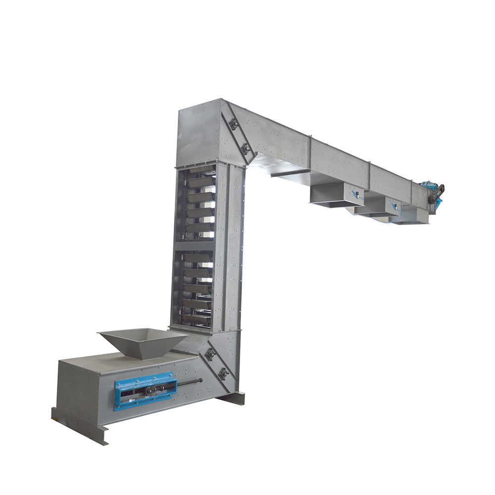 Made in China a multi-point z type bucket conveyor machine_3