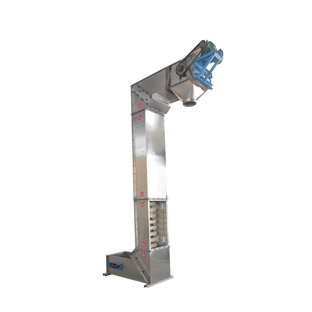 Powder particle z type bucket elevator machine_2