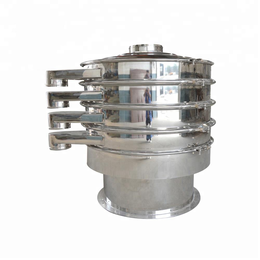 Food grade sus304 rotary vibrating sifter_3