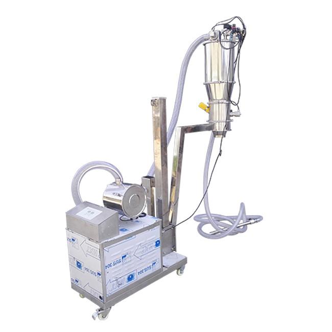 Stainless Steel Medicine Powder Vacuum Powder Feeder_2