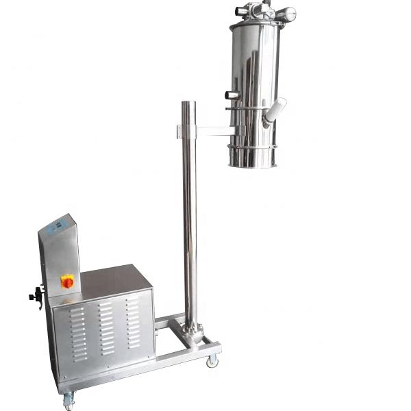Transporting system vacuum feeder for powder_3