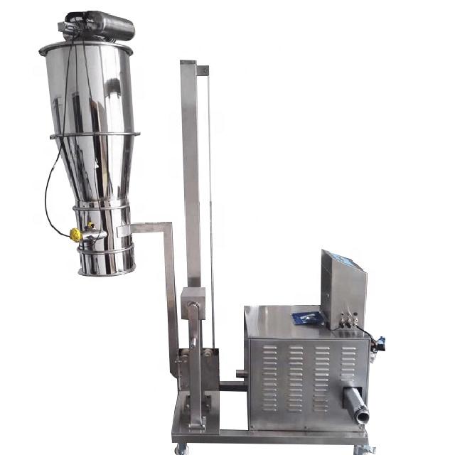 Vacuum material loading powder feeder_2