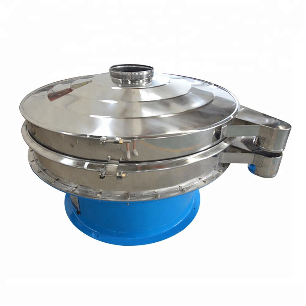 Rotary cassava flour vibrating screening machine_2