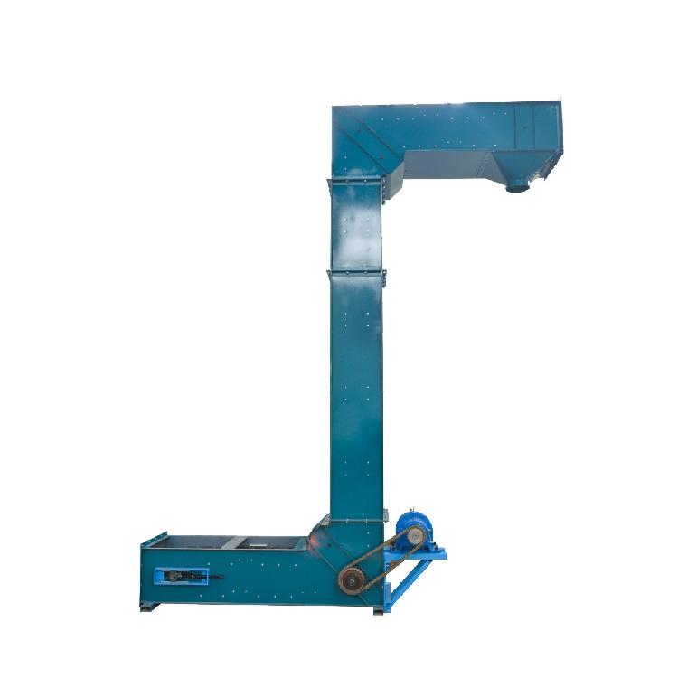 Activated Carbon Industrial Grain Vertical Z Type Chain Bucket Elevator_3