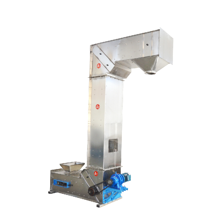 Z Type Chain Stainless Steel Grain Elevator Bucket Conveyor_2