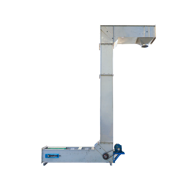 Z Type Chain Stainless Steel Grain Elevator Bucket Conveyor_3