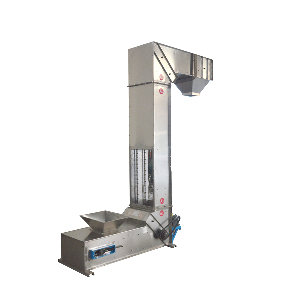 Z type bucket elevator conveyor machine for packaging system_2
