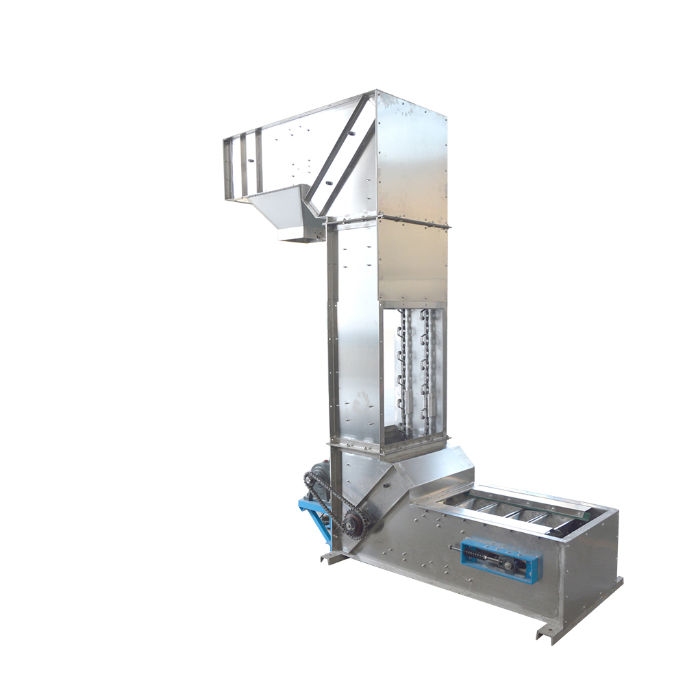 Stainless steel food grade loading z type bucket elevator_3