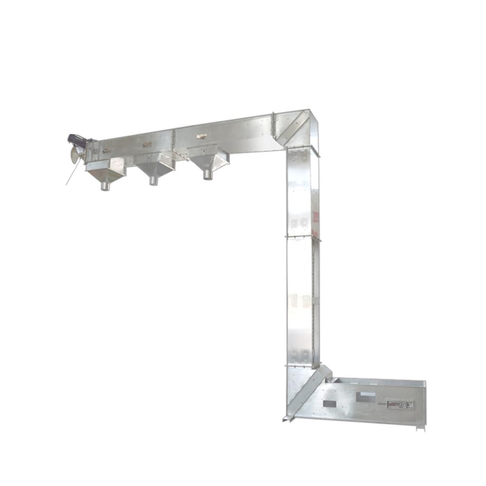 Heavy Dury Stainless Steel Multiple Chemical Vertical Bucket Elevators_2