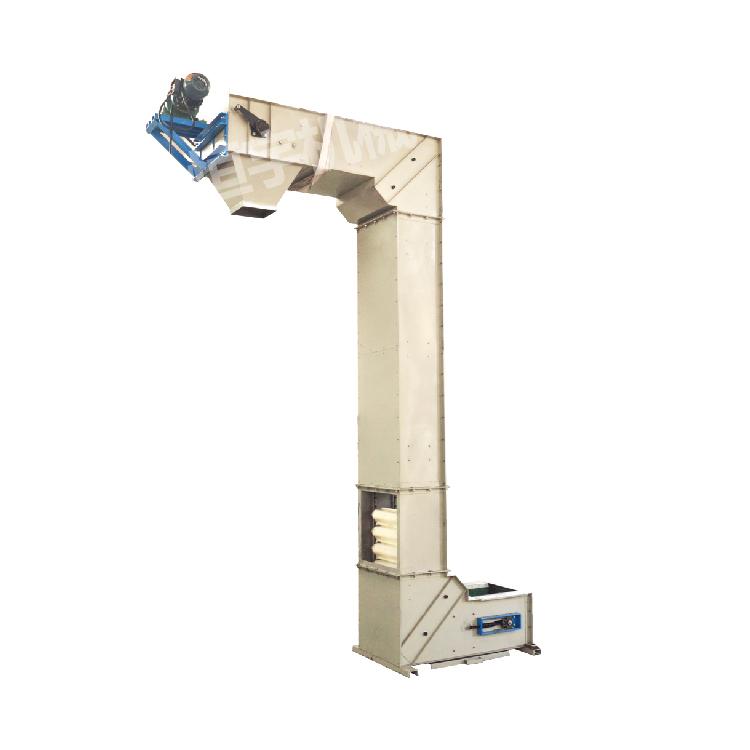 Fragile Material No broken Z Type Bucket Conveyor machine_3