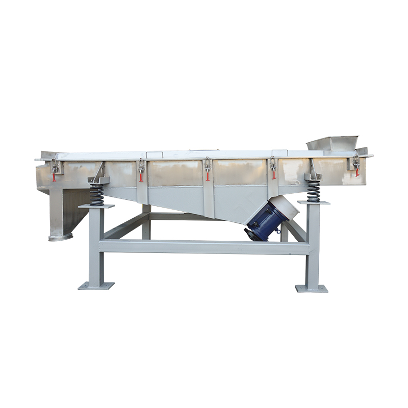 High Efficiency Stainless Steel Sieving Machine Linear Vibrating Screen_3