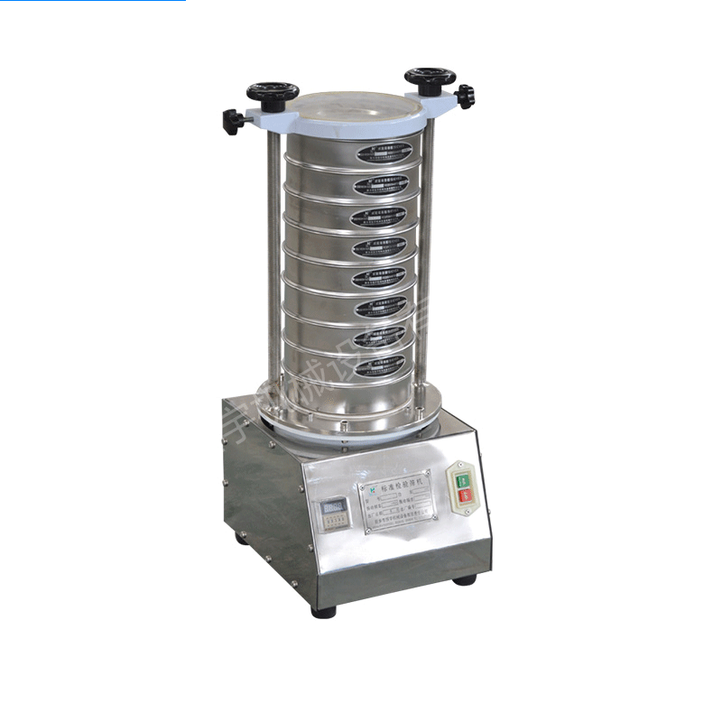 China 1~8 layers Laboratory Test Sieve Shaker_2