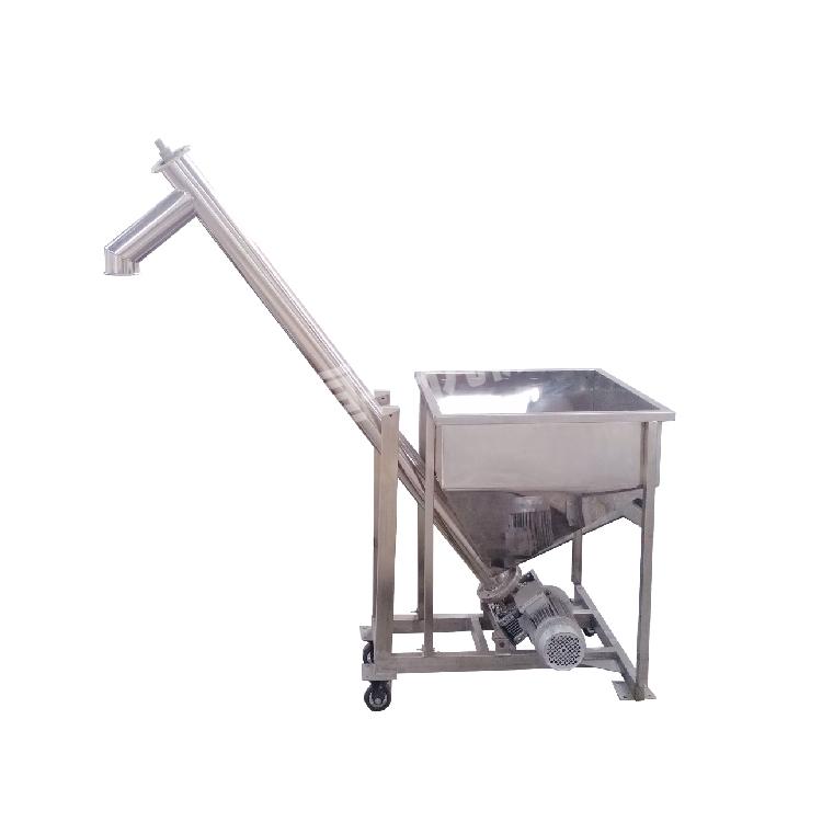 Stainless steel coffee salt screw conveyor_2